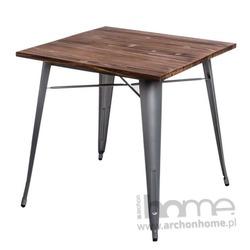 Stół Paris Wood srebrny sosna