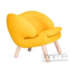 Fotel FLAMINGO żółty