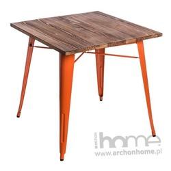 Stół Paris Wood pomarańczowy sosna