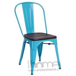 Krzesło Paris Wood niebieski sosna