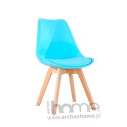 MODESTO Krzesło NORDIC niebieskie