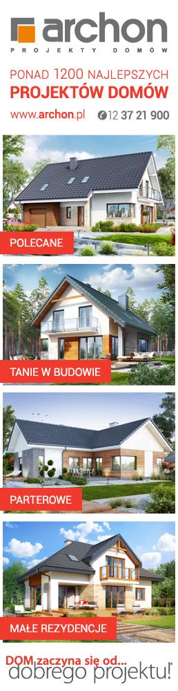 Ponad 1200 najlepszych projektów domów ARCHON+
